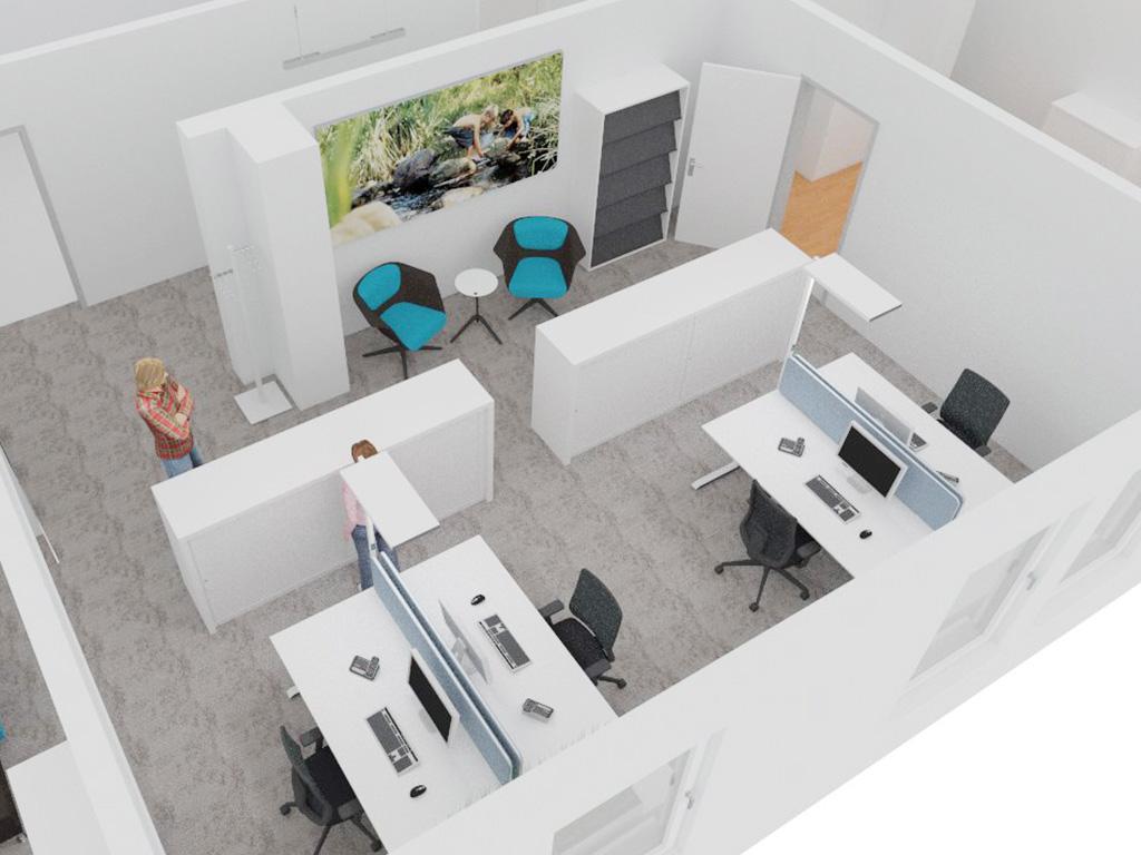Im Büro - Me First - Ergonomie im Büro - Zürich