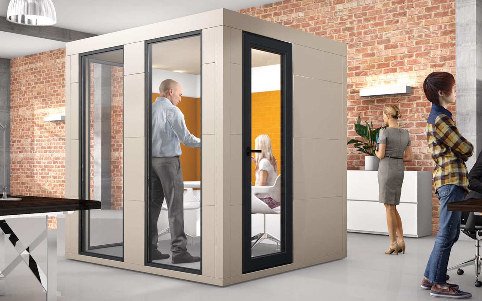 Raum-in-Raum-System von Office Bricks
