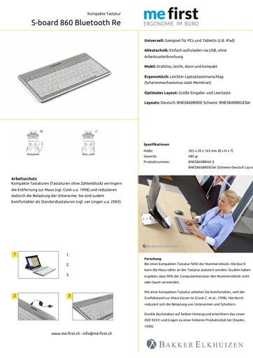 Bakker Elkhuizen S-Board 860 Bluetooth
