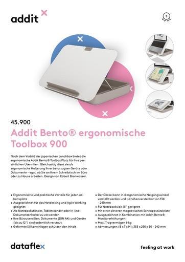 Dataflex Addit Bento Toolbox