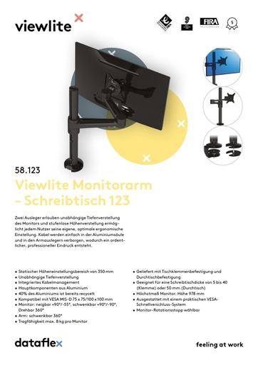 Dataflex Viewlite Monitorarm