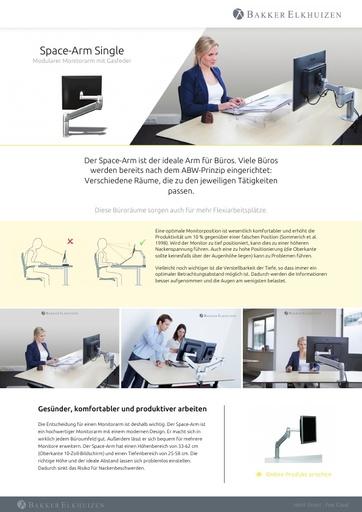 Bakker Elkhuizen Space Arm Single